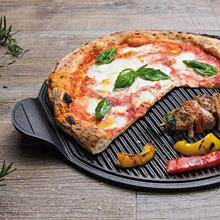 "NonSoloPizza: the plate we were waiting for! Perfect for preparing, cooking and serving pizza... and more.  Discover also its ""grill side"", ideal fo..."