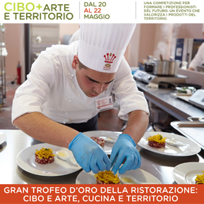 "Risoli' official partner of the ""GREAT GOLDEN TROPHY OF THE ITALIAN FOOD SERVICE"""