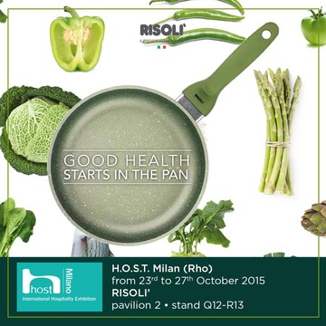 With big pleasure you will be our guest at H.O.S.T. - International Hospitality Exhibition  to enjoy our new line Dr.Green®