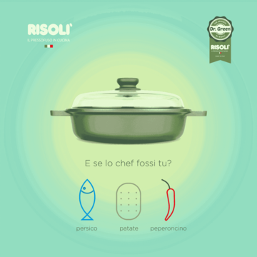 CREATIVE COOKING #4 Sui fornelli il tegame Dr.Green® by Risolì > http://bit.ly/1QDVn9c e 3 ingredienti che non possono mancare: filetto di persico...